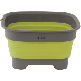 Outwell Collaps Waskom met Afvoer, lime green